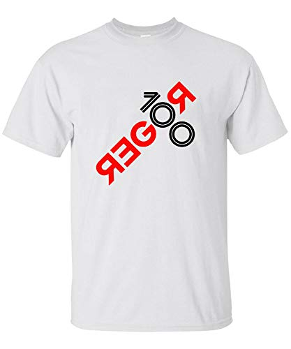 Roger Federer 100 Wins Tennis Titles Logo Tshirt New Gildan Usa Unisex S - 2XL