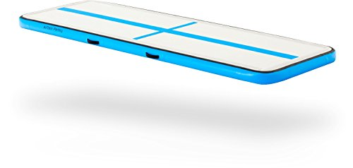 AirTrack Factory Home AirFloor (Blue/16ft) - Inflatable Gymnastics Mat Tumbling...