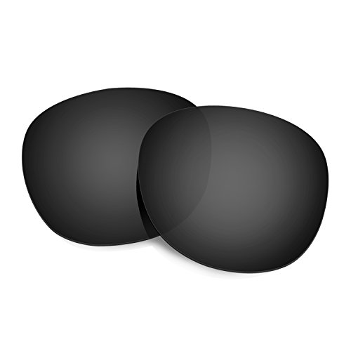 HKUCO Mens Replacement Lenses for Oakley Latch Sunglasses Black Polarized