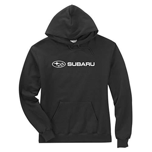Subaru Logo Black Basic Pullover Forester Impreza WRX STI Hoodie NEW SWEATSHIRT (XL)