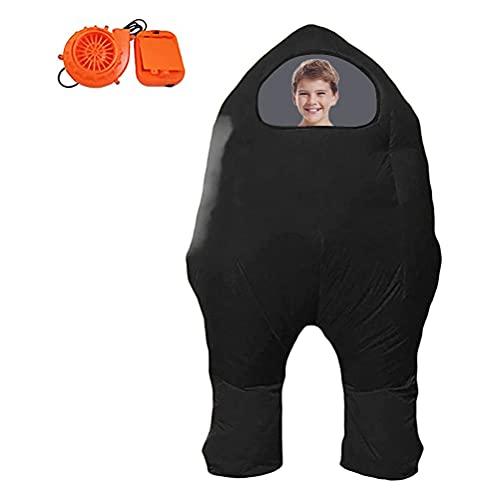 BSTEle Gonfiabile Astronauta Spazio del Anime Among Us Gioco Gonfiabile del Vestito di Halloween di Natale di Cosplay Prop