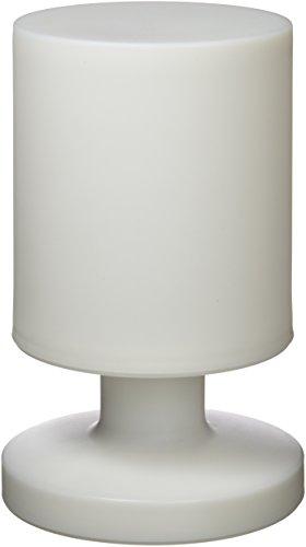 Reality Leuchten LED Akku Aussenleuchte, Acryl^Kunstoff, 1.5 W, weiß, Tischleuchte Höhe: 20,5cm Ø: 13cm