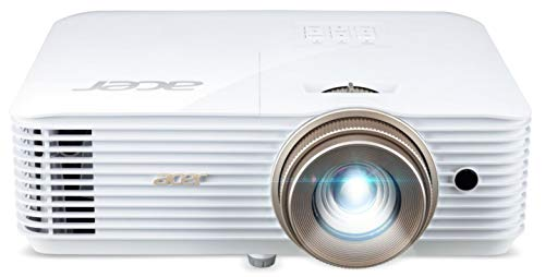 Acer V6520 DLP Heimkino-Projektor (Full HD, 1.920 x 1.080 Pixel, 2.200 ANSI Lumen, 10.000:1 Kontrast, 3D)
