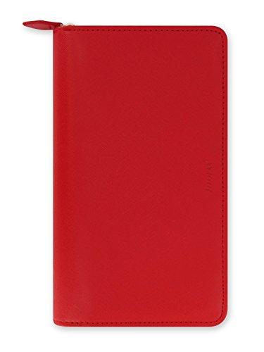 Filofax L022534 Agenda Soffiano, Rosso Compact