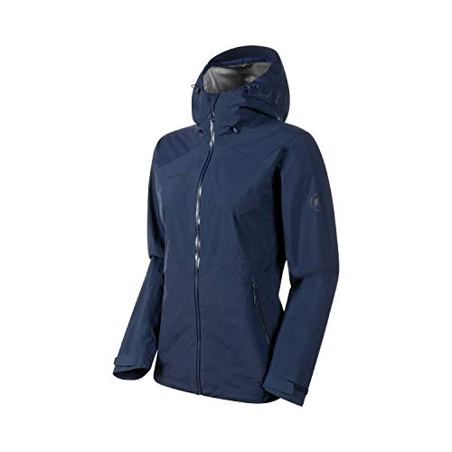Mammut Damen Hardshell-jacke Convey Tour Hooded, blau, L