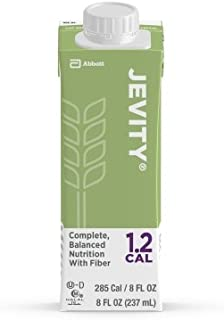 Jevity 1.2 Cal Nutritional Supplement Unflavored (Jevity 1.2 Cal - 8 oz Cartons) 1/Case of 24 Cartons