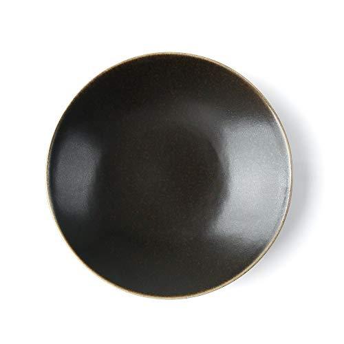 Holst Porzellan MO 125 Moreno - Plato de wok (25 cm, hasta un 400% más resistente que la porcelana convencional, 1 L)