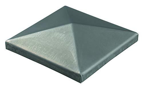 GAH-Alberts - chapeau en acier brut à souder pour poteau métallique carré 150 x 150 mm / 1 Stk.