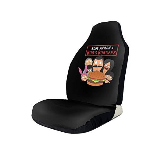 Dxddsdks Bob Burgers Fashion Car Seat Covers Easy Install Remove Soft Comfortablr Decorative Protector Fits Most Cars Trucks Vans SUV Front Seats 1 PCS