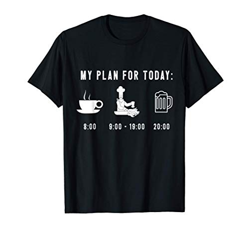 Divertido Cocinero Gráfico de Cocina Chef Regalo Camiseta