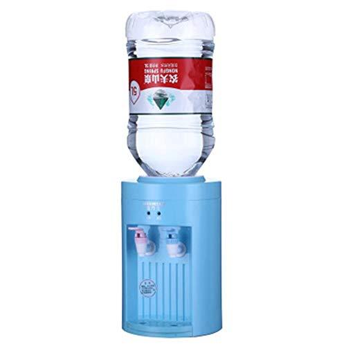 YakeHome Mini portátil eléctrico 220V máquina de Bebida fría y Caliente Dispensador de Agua de Escritorio Soporte Dispensador de Agua Calentador Caldera Herramienta de Bebidas para Oficina en casa