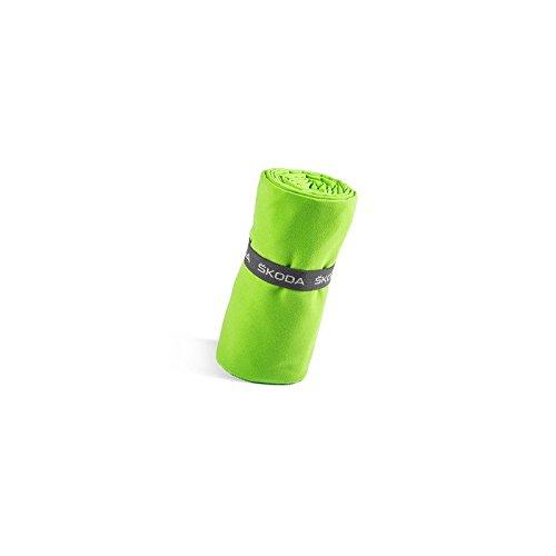 Skoda MVF17-272 - Toalla Deportiva (70 x 150 cm), Color Verde