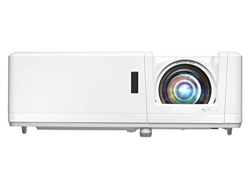 Price comparison product image Optoma ZH406ST Short Throw Full HD Professional Laser Projector / DuraCore Laser Light Source / High Bright 4200 lumens / 4K HDR Input / Flexible Installation with Four Corner Adjustment / Network Com