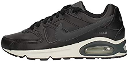 Nike Air Max Command Leather Mens Running Trainers 749760 Sneakers Shoes (UK 6.5 US 7.5 EU 40.5, Black Anthracite Neutral Grey 001)