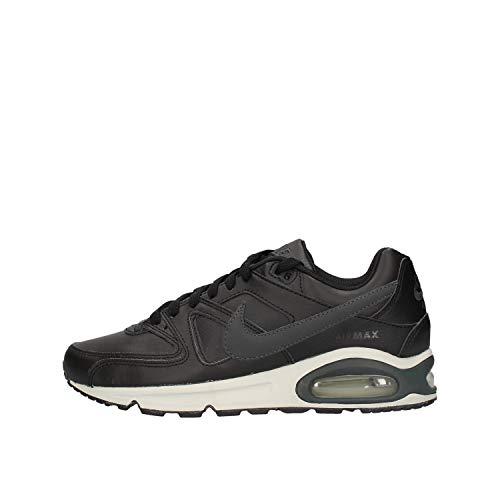 Nike Herren Air Max Command Leather Turnschuhe, Schwarz (Black/Anthracite/Neutral Grey 001), 48.5 EU