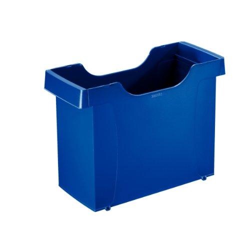 Leitz 19080035 Hängemappenbox Uni-Box plus , für Hängemappen A4, Polystyrol, blau
