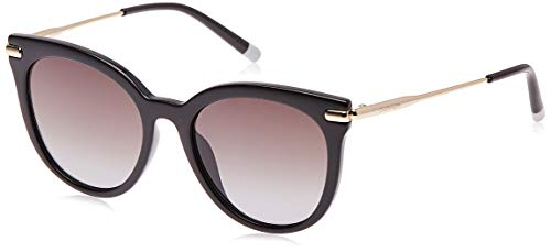 Calvin Klein EYEWEAR Womens CK3206S Sunglasses, Black, 5318