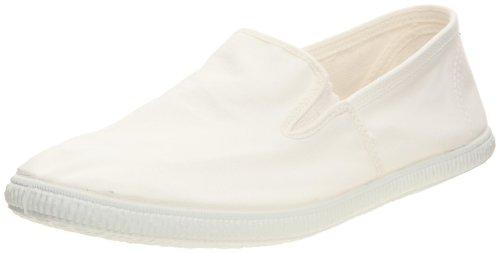 victoria - Zapatillas de Deporte de Tela para Hombre, Color Blanco, Talla 41