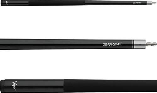 Viper Graphstrike Fiberglass Graphite Composite Billiard/Pool Cue, 57-Inch, 2-Piece