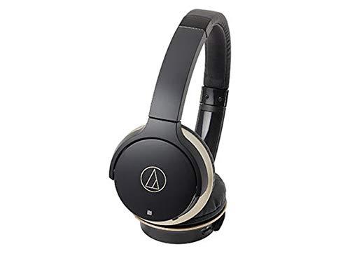 audio-technica ワイヤレス ヘッドホン Sound Reality ATH-AR3BT BK [ブラック・ゴールド]