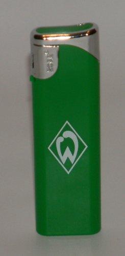 """Werder Bremen grün s Feuerzeug nachfüllbar \""""NEU\"""""""