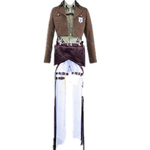 Attack on Titan Jean Kirstein Years Cosplay Costume Carnaval Halloween Christmas Costume (Male S)