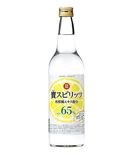 【高アルコール】寶スピリッツ65% [ スピリッツ 600ml ]