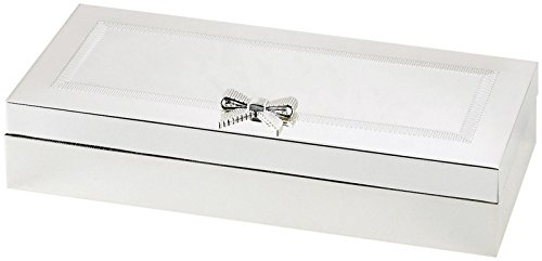 KATE SPADE Grace Avenue Vanity Tray, 1.35 LB, Metallic