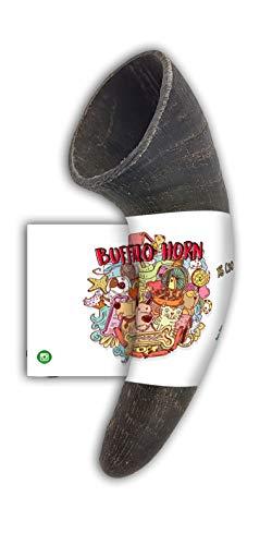 Bio Mordiscos Hundespielzeug kauspielzeug aus Büffelhorn für Hunde - 100% natürlich (XS 30-99 g)