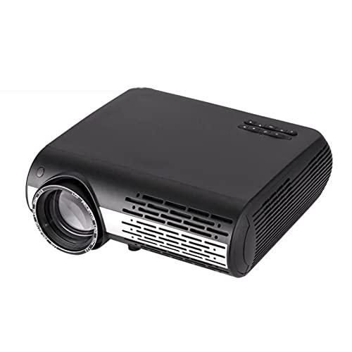 WJMM Proyector, Proyector de Video con Video inalámbrico Bluetooth inalámbrico Bluetooth inalámbrico, Compatible con TV Stick, USB, HDMI y más