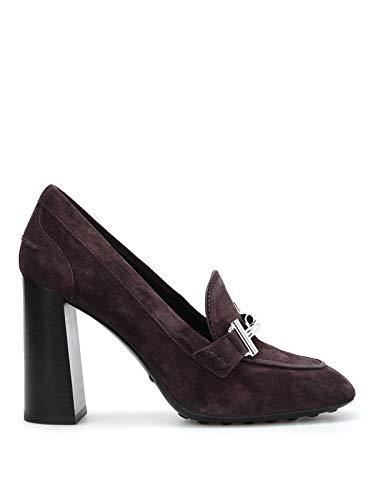 Tod's Luxury Fashion Damen XXW0ZL0Q950LCAS820 Braun Wildleder Pumps | Jahreszeit Permanent
