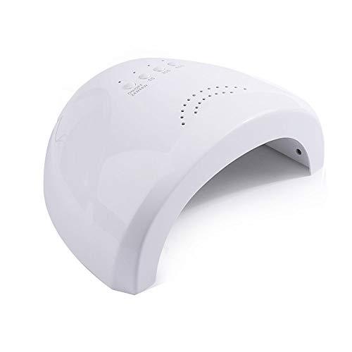Lámpara de uñas UV LED, Esmalte de uñas de Gel, Secadora UV de 48W para Esmalte de uñas con 3 temporizadores, máquina de Clavos de Sensor Inteligente de fototerapia UV, Herramientas de uñas