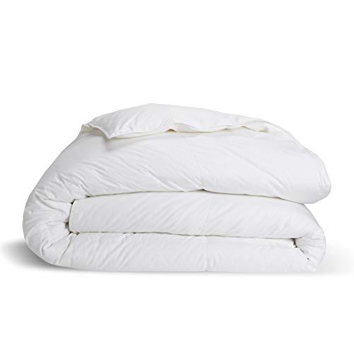 Brooklinen Down Alternative Comforter for Full/Queen Size Bed - Hypoallergenic Ultra-Warm Duvet...