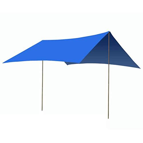 ZL-tent Outdoor pergola multifunctioneel zonnescherm zilver gecoat UV camping baldakijn en mat E