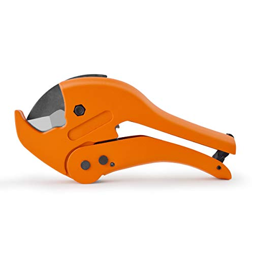 Gunpla Plastic Pipe Cutter 1-5/8inch Cutting Heavy Duty Pipe and Tube Cutter 42mm Tool for PVC CPVC PEX PE PPR
