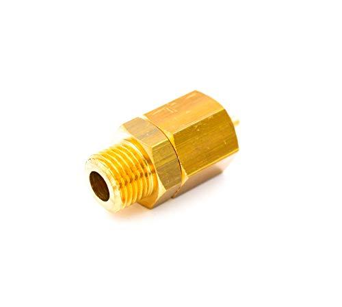 Antivakuumventil lang, 1/4 für fast alle Zweikreis Espressomaschinen, Siebträgermaschinen wie ECM, Isomac uvm.