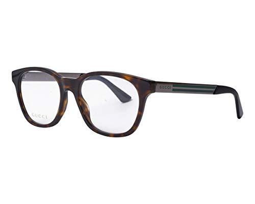 Gucci GG-0690-O 003 - Gafas de sol (acetato, metal, acabado brillante), color negro