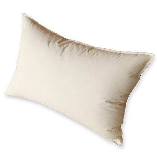 まくら 羽根枕 安眠 枕 綿100%生地 人気 肩こり 快眠枕 高級ホテル仕様 スモールフェザー100%充填 2倍の洗浄度 洗浄 抗菌 防臭 防ダニ SNOWMAN