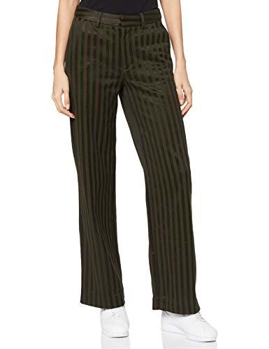 Scotch & Soda Maison Womens Edie High-Rise Wide-Leg Hose aus Baumwollmischung Pants, 0218 Combo B, 30W