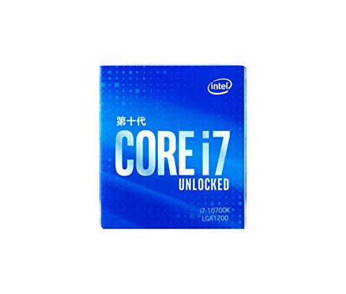 CPU unità di elaborazione centrale lizeyu, processore desktop decima generazione i7-10700KCPU