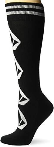 Volcom Damen Sherwood Medium Weight Snow Socken zum Snowboarden, schwarz, X Small