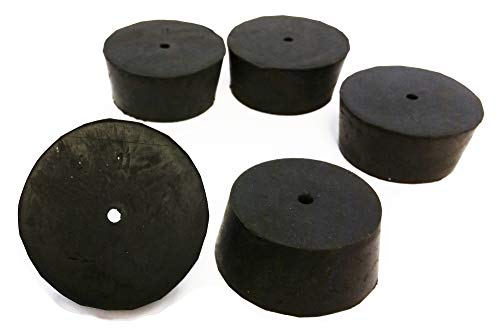 RS-11-1 | GSC International RS-11-1 Rubber Stoppers, Size 11, Drilled 1-Hole (1-Pound Pack)