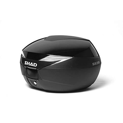 SHAD D1B39E21 SH39 Accesorio maleta motocicleta, Color Negro Metálico