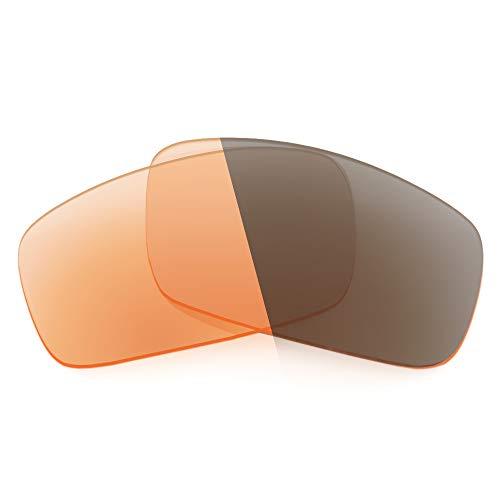 Revant Ersatzgläser Kompatibel mit Spy Optic Logan, Nichtpolarisiert, Adapt Orange Photochromic