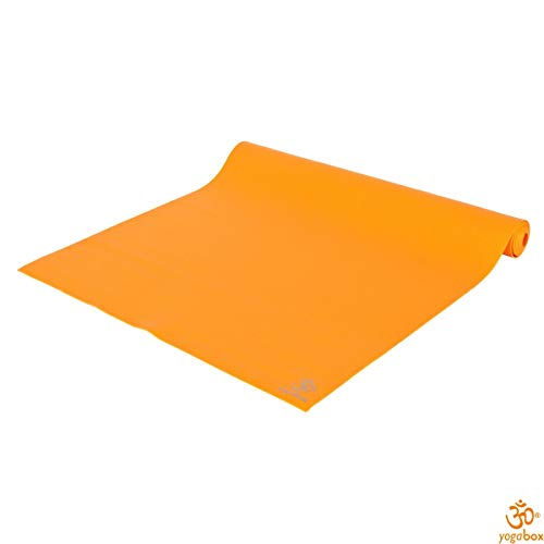 Yogamatte Super Light Travel Mat Made in Germany, orange