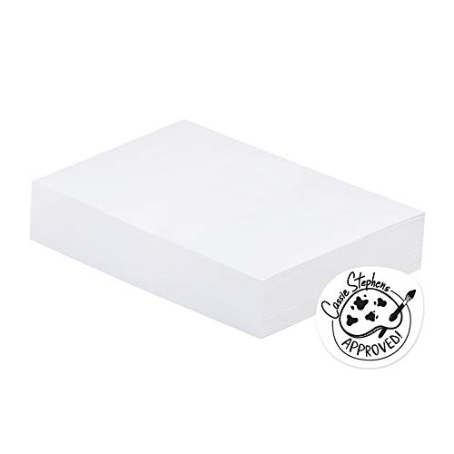 Art1st Mixed-Media Paper, 80 lb, 12 x 18 Inches, Natural White, 500 Sheets