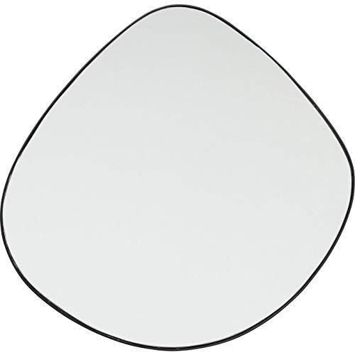 Kare Design Spiegel Göteborg 90x93cm, abgerundeter Wandspiegel in besonderem Design, Spiegel mit Rahmen, in verschiedenen Ausführungen erhältlich (H/B/T) 90x93x1,5cm