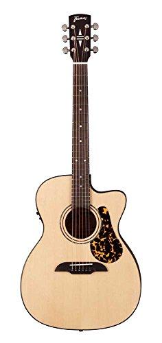 Framus fr FF 14SV vsnt CE Legacy Folk CE Guitarra Western con pastilla Natural satén