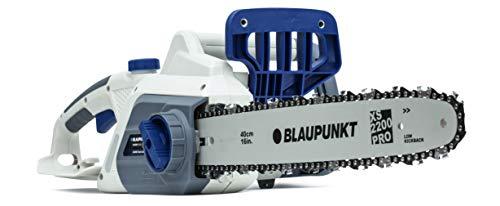 Motosierra eléctrica Blaupunkt CS3000 Potencia 2200W | Espada de 40 CM | Freno de cadena...