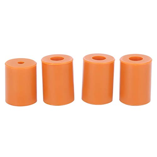 Orange Heat-Resistant Hot Bed Buffer Leveling Heatbed Silicone Tool Durable Silicone Leveling Column for 3D printer Ender 3 for 3D printer Ender 3 Pro